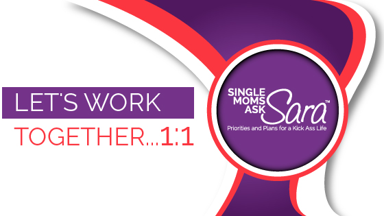 Single Moms Ask Sara work together Sara Sherman