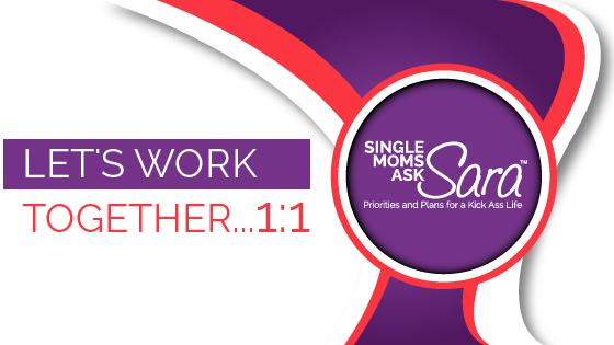 Single Moms Ask Sara work together Sara Sherman