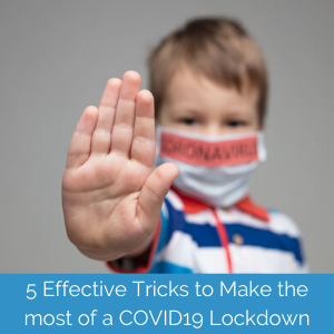 How single moms can make the most of a covid lockdown