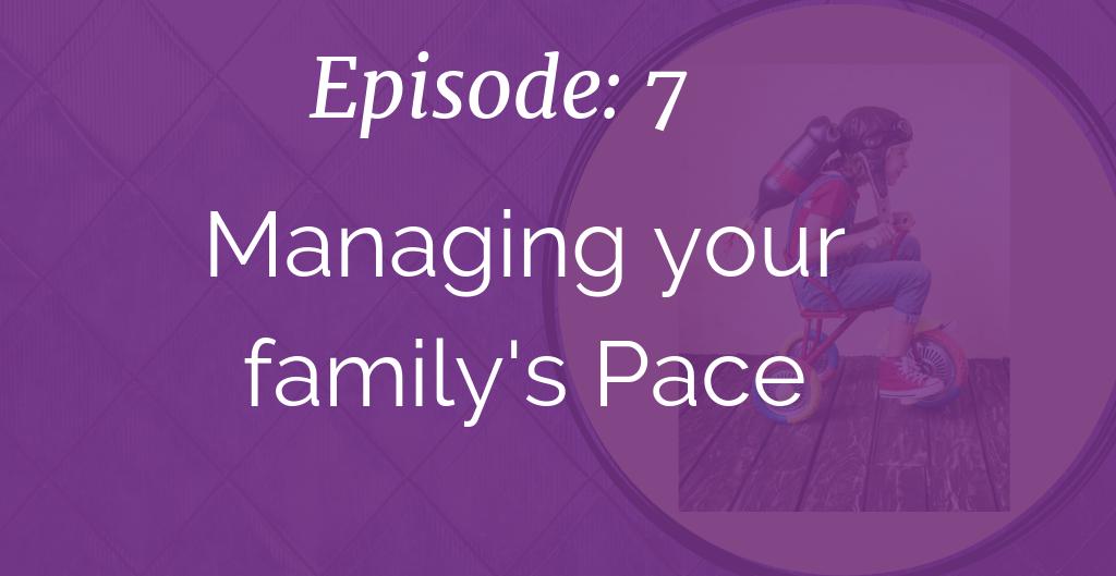 Kickass Single Momming, Managing your family's Pace, Sara Sherman