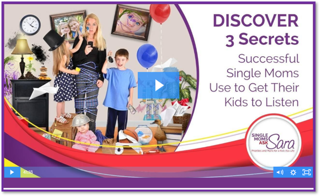 3 Secrets Successful Single Moms Use to Get Their Kids to Listen Masterclass